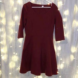 OLD NAVY maroon dress